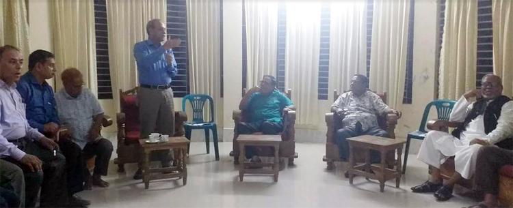 কুলাউড়ায় বিশ্ব কবি রবীন্দ্রনাথ ঠাকুর'র আগমনের শতবর্ষ উদযাপন কমিটি গঠন