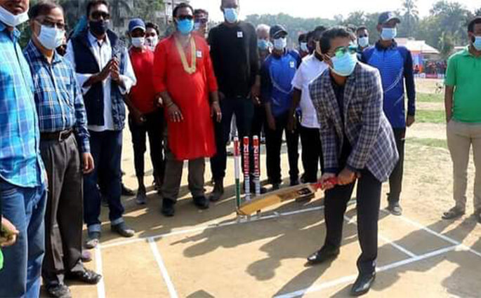 মুজিশতবর্ষ উপলক্ষে শ্রীমঙ্গলে টি-টোয়েন্টি ক্রিকেট টুর্নামেন্টের উদ্বোধন