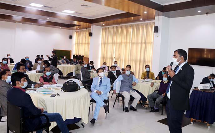 দারিদ্রতা বিমোচনে জাতীয় পর্যায়ে ৩৯টি সুচক নিয়ে শ্রীমঙ্গলে কর্মশালা