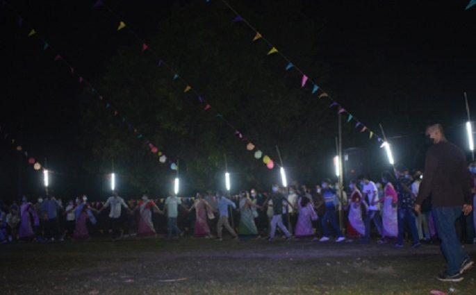 শ্রীমঙ্গলে মনিপুরী সম্প্রদায়ের থাবল চোংবা অনুষ্ঠিত।