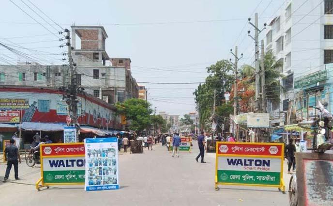 মঙ্গলবার থেকে ৭ জেলায় লকডাউন