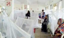 আরও ১২৩ জন ডেঙ্গু রোগী হাসপাতালে ভর্তি